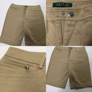 Ralph Lauren Beige Bermuda shorts, size